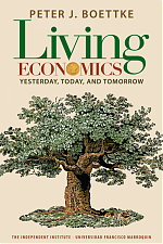 Living Economics: Yesterday, Today, and Tomorrow (book cover)